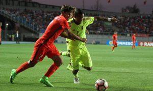 Venezuela perdió contra Chile en la primera jornada del hexagonal del Suramericano Sub-17