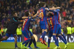 Barcelona hace historia con una remontada irracional