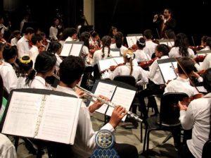 Concierto Pedagógico en el Teatro Baralt acerca a niños del Barrio Modelo con Sistema de Orquestas Juveniles e Infantiles de Venezuela