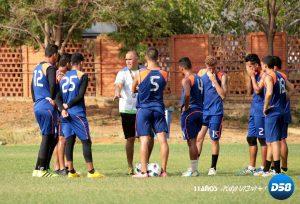 Titanes FC: «Patón» González: «me gusta el ímpetu y las ganas que están mostrando los muchachos»