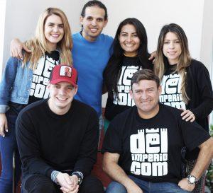 Venezolanos triunfan en Miami con Del Imperio TV