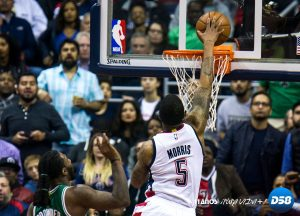 NBA: Wall define con triple el triunfo y los Wizards empatan la serie