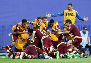 «Vintotinto Sub-20» marca nuevo hito para Venezuela en mundiales de fútbol