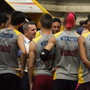 Fútsal: Jorge William Rodríguez: «los jugadores tienen muchas ganas de estar aquí»