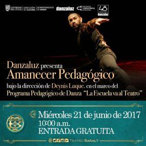 Danzaluz presenta «Amanecer Pedagógico»