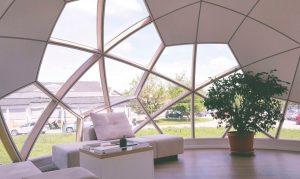 Cúpulas modulares para amantes de la naturaleza