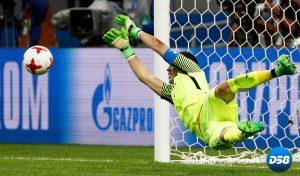 Chile tumbó a Portugal en la tanda de penaltis con Bravo como héroe