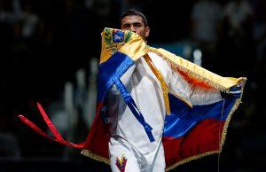 Rubén Limardo se lleva medalla de oro en el Campeonato Panamericano de Esgrima