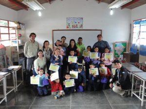 Certifican a niños de Mucutuy como cuidadores del planeta