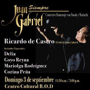 Venezuela rinde tributo a Juan Gabriel