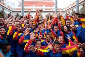 Delegación sordolímpica arribó a Venezuela con 18 medallas