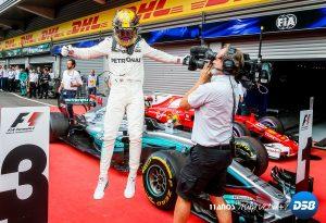 F1: Hamilton añade presión a Vettel ganando en la pista talismán del «Kaiser»