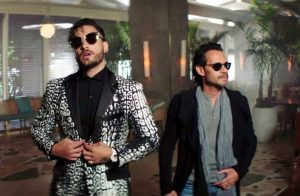 Maluma y Marc Anthony presentan el video de «Felices los 4»