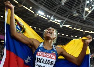 Yulimar Rojas se consolida como campeona mundial