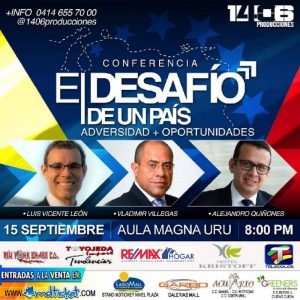 «El desafío de un país» está noche en Maracaibo