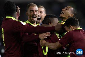 Venezuela suma un punto histórico ante Argentina en eliminatorias a Rusia 2018