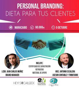«Personal Branding: dieta para tus clientes» llega a Maracaibo
