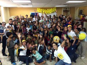 Niños de «Cerros de Marín» celebraron en grande la niñez
