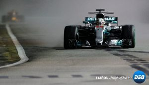 F1: Lewis Hamilton reinó en el caos