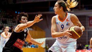 La alero y la alera, en baloncesto, femeninos válidos