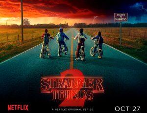 «Stranger Things» rinde homenaje a «Evil Dead» en su nuevo póster para la segunda temporada