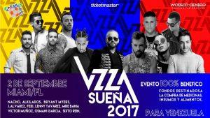 Miami se llenará de música con el fin de recaudar fondos para Venezuela