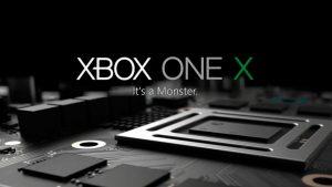 Xbox One X llegará al mercado el 07 de noviembre