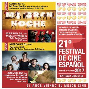 Maracaibo: Festival de Cine Español en el CAMLB