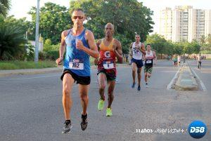 Julio Medina y Karla Andrade ganaron la IV carrera Gatorade Maracaibo Rock
