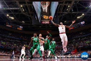 NBA: Hayward sufre fractura y James lidera triunfo inaugural de Cavaliers