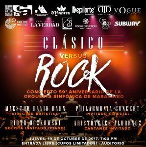 «Clásico versus Rock» en el 59 Aniversario de la Orquesta Sinfónica de Maracaibo
