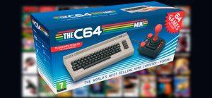 Regresa el popular ordenador de los 80, Commodore 64 en su versión mini