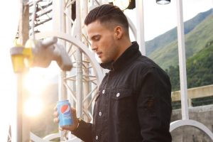Gustavo Elis es la nueva imagen de la prestigiosa marca Pepsi