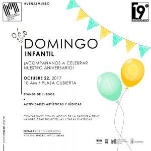 Domingo Infantil este 22 de octubre para celebrar los 19 años del MACZUL