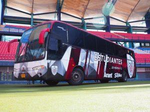 FútVe: Estudiantes de Mérida FC presentó su nuevo autobús
