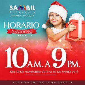 En Navidad, Sambil Venezuela extiende su horario una hora más