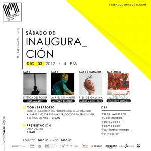 Fiesta del Arte en el MACZUL el sábado 2 de diciembre de 2017