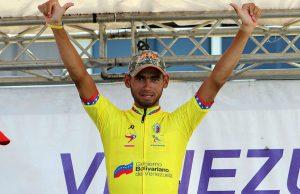 Pedro Gutiérrez conquistó este sábado la novena etapa de la Vuelta Ciclística a Venezuela
