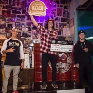 Daniel Dhers se tituló campeón mundial del BMX estilo libre