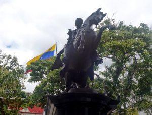 7 de noviembre de 1874 Se Inaugura en la Plaza Bolívar de Caracas La Estatua Ecuestre del Libertador Simón Bolívar