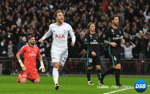 LC: Alli y Eriksen castigan a un apático Real Madrid en Wembley