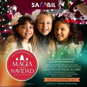 Sambil Maracaibo enciende la Navidad con magia y color