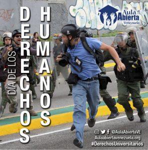 Aula Abierta Venezuela conmemora el Día Internacional de los Derechos Humanos