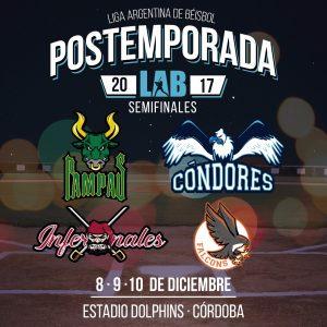 LAB: Inicia la postemporada en la Liga Argentina de Béisbol