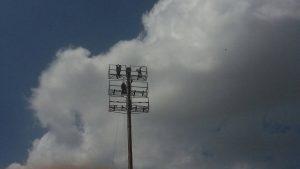 FútVe: Arrancaron los trabajos de iluminación del «Mítico» Páez