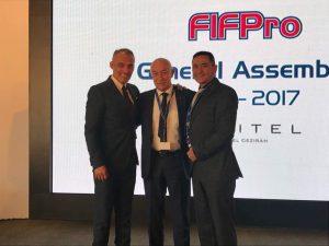 La AUFPV presente en Asamblea General FIFPro 2017