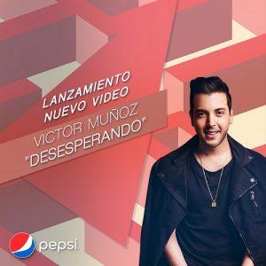 Pepsi acompañó a Víctor Muñoz en el lanzamiento digital de su nuevo video musical