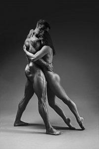 Atletas desnudos para un calendario benéfico