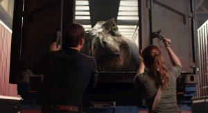 «Jurassic World 2: El Reino Caído» lanzó su primer tráiler