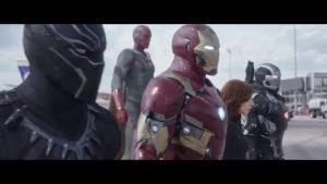 Black Panther contra Capitán América en el nuevo anuncio de televisión de Civil War